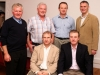 Pictured at the Ballinrobe GAA in the Valkenburg Hotel, front from left: Gerry Ryder, and Liam Fahy; at back: Michael Joyce, PJ Joyce, John Flannelly and John Cummins.Ballinrobe GAA