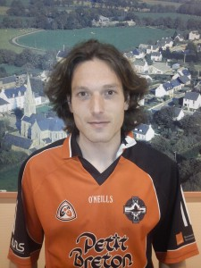 David Gauvin, Rennes GAA. Tell me Niall, is it David, or Daveed? He's Daithi for this trip, either way. Born: Rennes Nationality: French/Breton Started playing: 2008 Position: Midfield