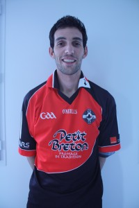 Gweneole Leost, Rennes GAA. Gwen, for short. Born: Saint-Caradec Nationality: French/Breton Started playing: 2011 Position: Midfield