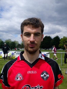 Matthieu Vincent, Rennes GAA. Hopes to meet his hero Cummins Vincent on this trip. Born: Rennes Nationality: French/Breton Started playing: 2012 Position: Half Forward