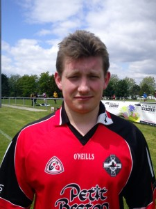 Max Salmon, Rennes GAA. This is more trout country, Max. Born: Rennes Nationality: French/Breton Started playing: 2012 Position: Full Back