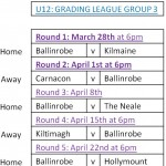 GRADING LEAGUE GROUP 3