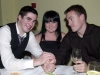 Pictured at the Ballinrobe GAA Clubs Annual Dinner Dance in Lynch's Hotel Clonbur were, left to right: Fiona Gilraine, Nicola Ford, Michael Killeen, Margaret KIlleen, Josie Tiernan, Joe Tiernan and John Bradley.Pic: Tommy Eibrand