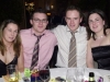 Pictured at the Ballinrobe GAA Clubs Annual Dinner Dance in Lynch's Hotel Clonbur were, left to right: Orla Corbett, Padraig Costello, Kevin Donnellan and Mary Golden.