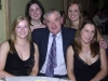 Pictured at the Ballinrobe GAA Clubs Annual Dinner Dance in Lynch's Hotel Clonbur were, left to right: Loretta Hughes, Mary Golden, Tommy O'Malley, Linda O'Connor and Orla Corbett.