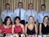 PICTURED at the Ballinrobe GAA Club's Annual Dinner Dance on New Year's Eve in Lynch's Hotel, Clonbur. Back row l-r: Fergal Costello, Peter Walkin, Colm Jennings, Eamon Keane.