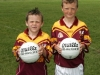 Mascots  at the start of The TF Royal Hotel and Theatre Senior Football Championship between Ballinrobe and Moy Davitts in Flanagan Park Ballinrobe. Photo: ?? Michael Donnelly