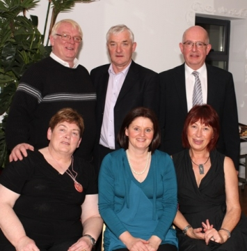Pictured at the Ballinrobe GAA in the Valkenburg Hotel from left: John and Kitty Sheridan, Tommy and Marian O'Malley, and Martin and Ann Murphy, Ballinrobe